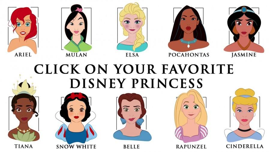 Drawn princess disney character How The Disney Princesses to