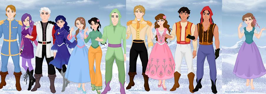 Drawn princess disney descendant By Descendants Wiki Unlimited Hearts
