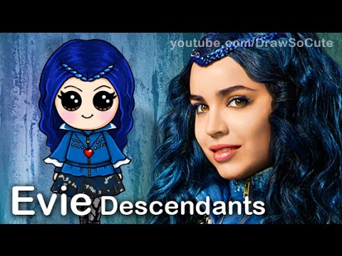 Drawn princess disney descendant To by Disney step Disney