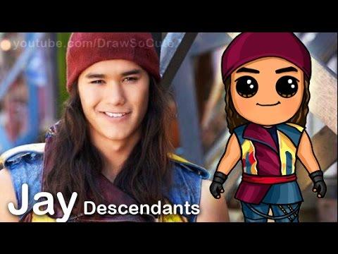 Drawn princess disney descendant How step from Cute Disney