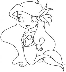 Drawn princess dragoart Chibi to  Chibis Step