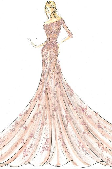 Drawn princess dress About Pinterest 69 images drawing