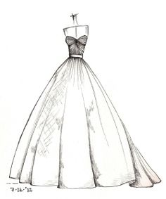 Drawn wedding dress easy This sketch YOUR on perfect
