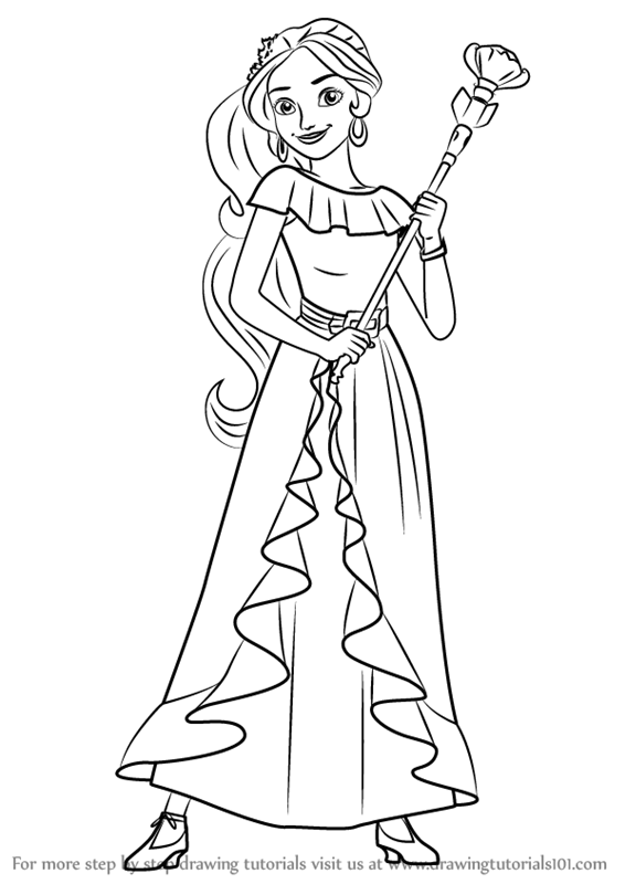 Drawn princess elena disney Elena Elena from from (Elena