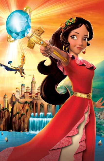 Drawn princess elena disney Princess Princesa in Carries Kingdom