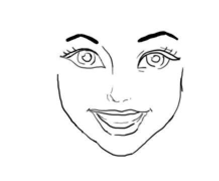 Drawn princess face > How For Disney Disney