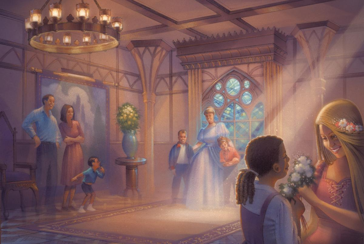 Drawn princess fairytale princess Princess Set Greet Meet'N Hall