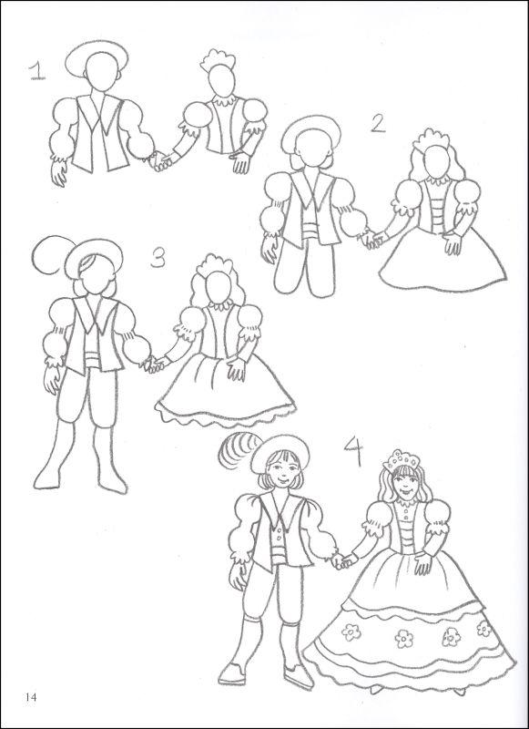 Drawn princess fairytale princess Draw Tale Princesses Draw Fairy