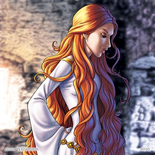Drawn princess fairytale princess Princess tale drawing  Williamson