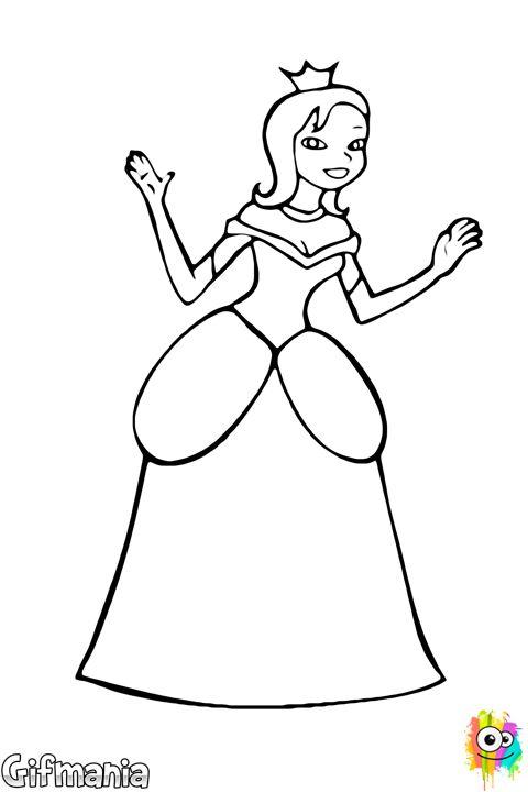 Drawn princess fairytale princess #fantasy #princess tale fairy Pinterest