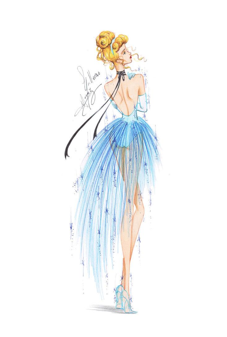 Drawn princess fashion illustration Fashion Meraz  fashion fashion