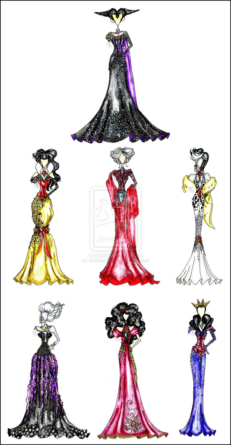 Drawn princess fashion illustration Images on best & Fab