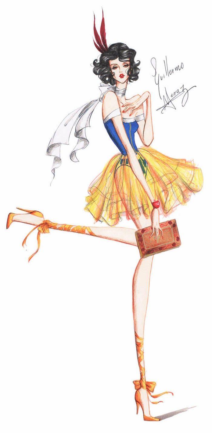 Drawn princess fashion illustration FASHION images on FASHION 702