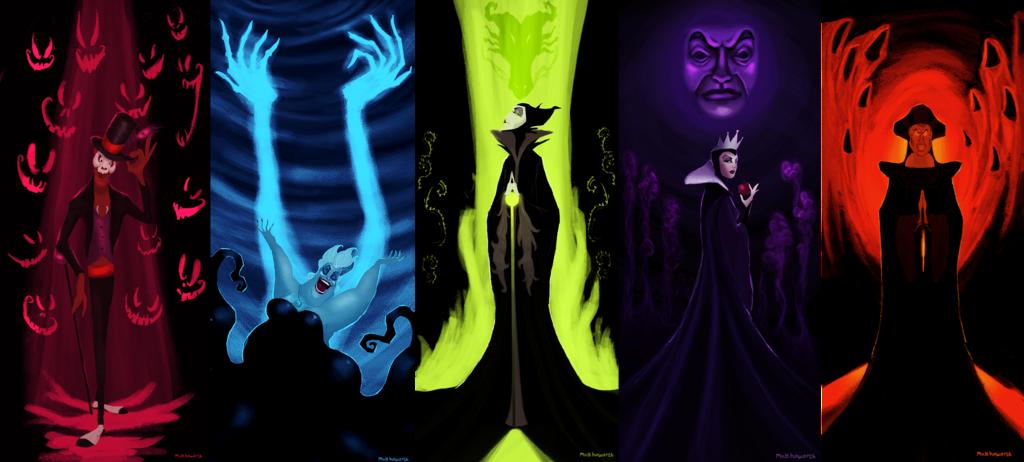 Drawn princess female disney villain Villains Author on Disney GloomCookie'