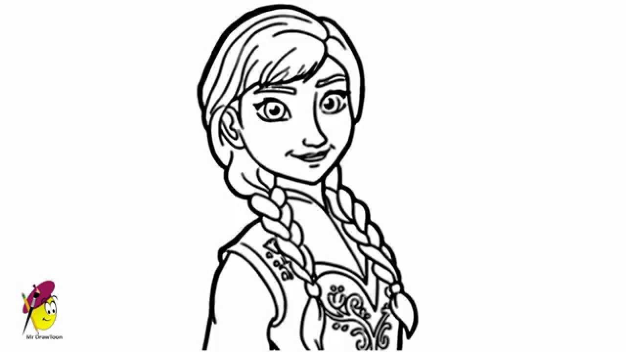 Drawn princess frozen princess Draw Princess to Frozen from