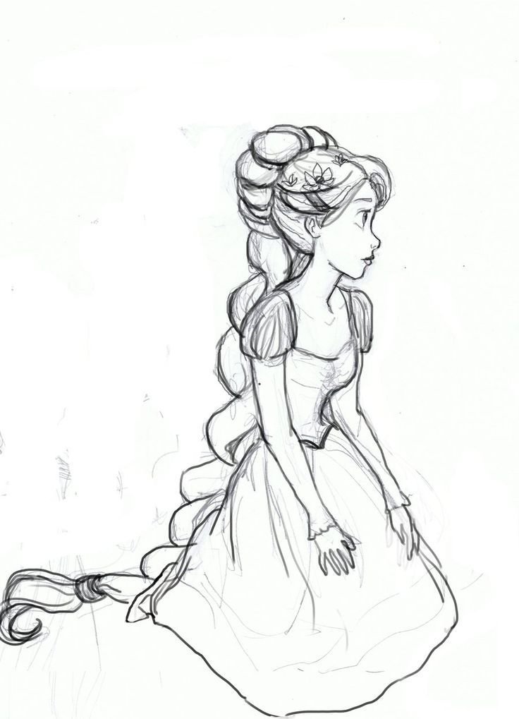 Drawn braid rapunzel Pinterest Best Rapunzel 25+ ideas