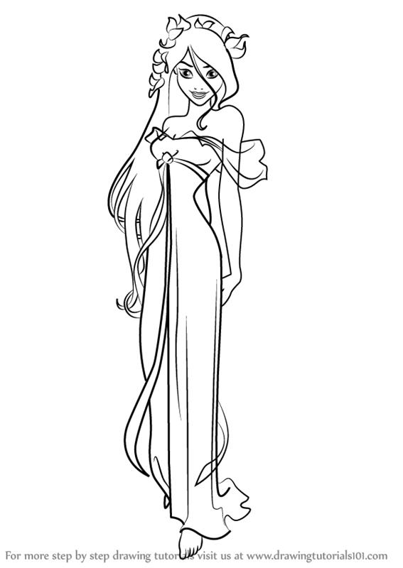 Drawn princess giselle enchanted How (Enchanted) Giselle to Princess