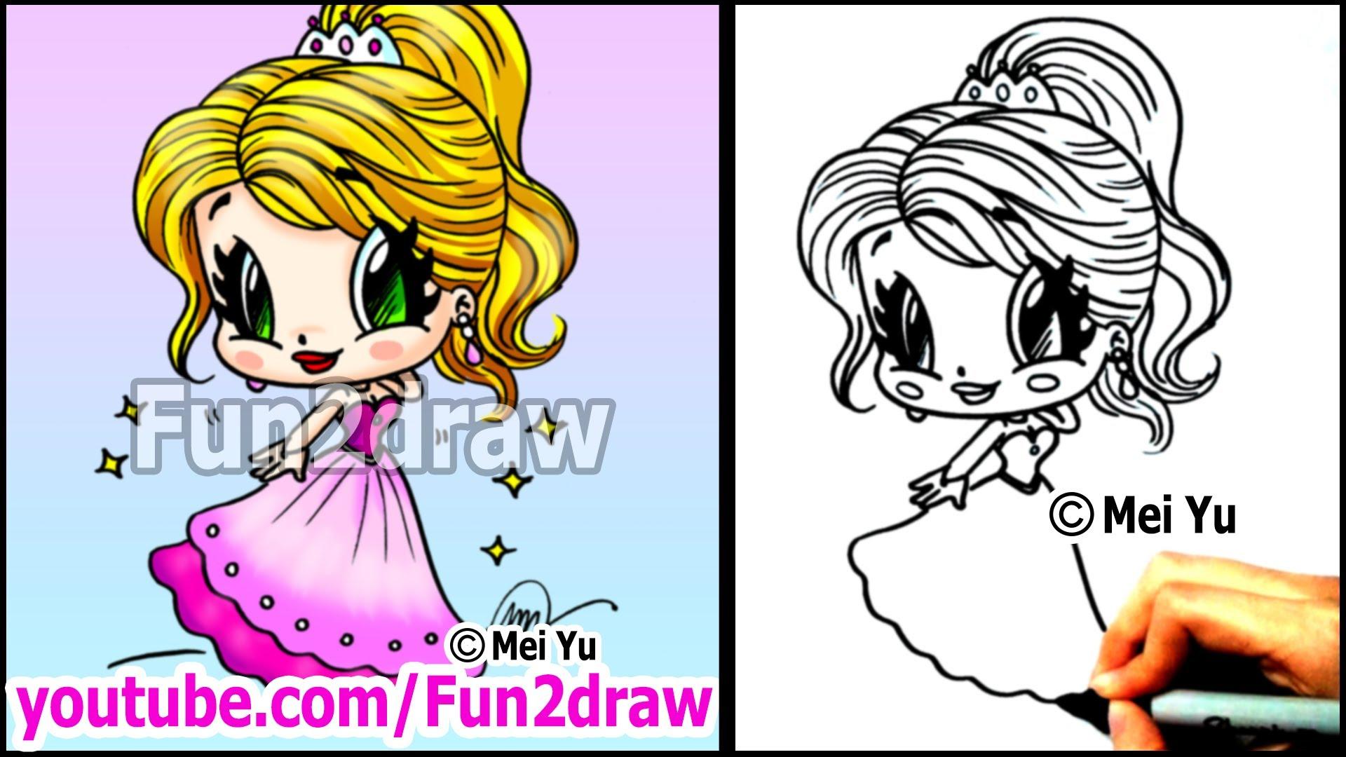 Drawn princess google People Tutorial Prom Cartoon in