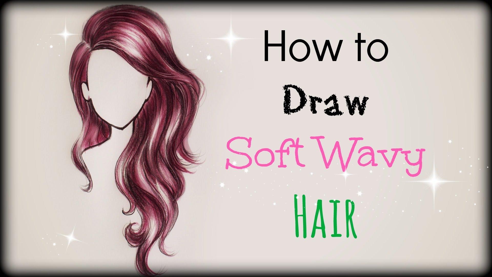 Drawn princess hair ❤ Soft ❤ YouTube Soft