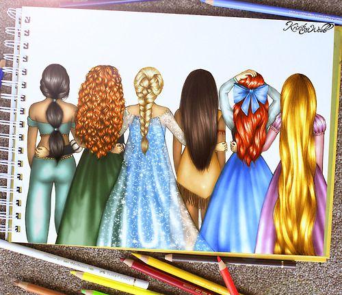 Drawn selfie disney Disney 25+  New Pinterest