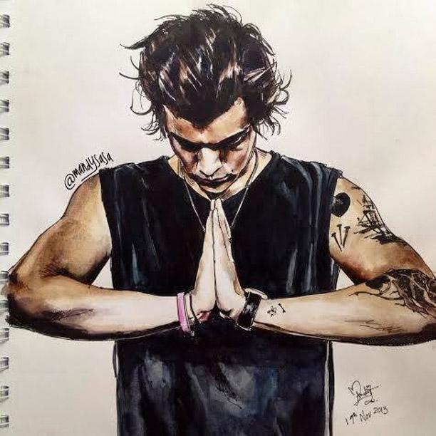 Drawn princess harry styles Direction fan One fan more
