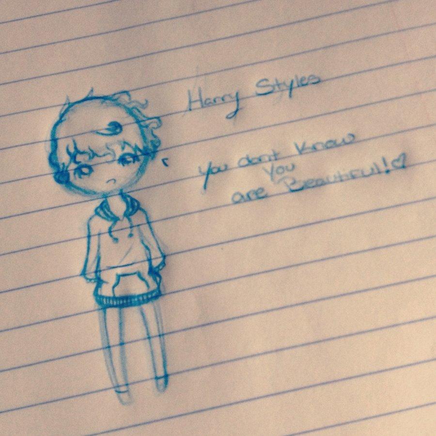Drawn princess harry styles Chibi by Styles Halfbloodprincess27 Chibi