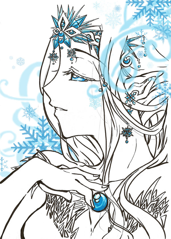 Drawn princess ice princess Ice Ice by DeviantArt MomoMikamoto