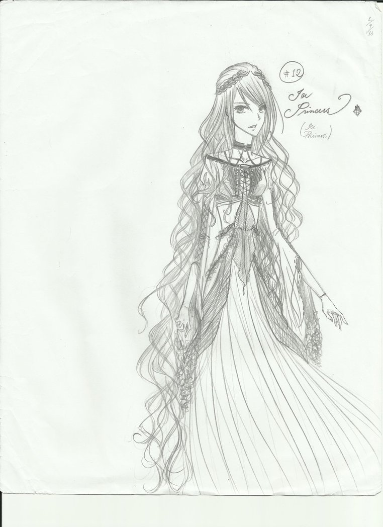 Drawn princess ice princess Strawberry Ice canyan me call