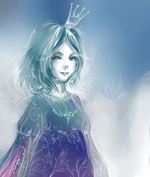 Drawn princess ice princess No Ice by no na