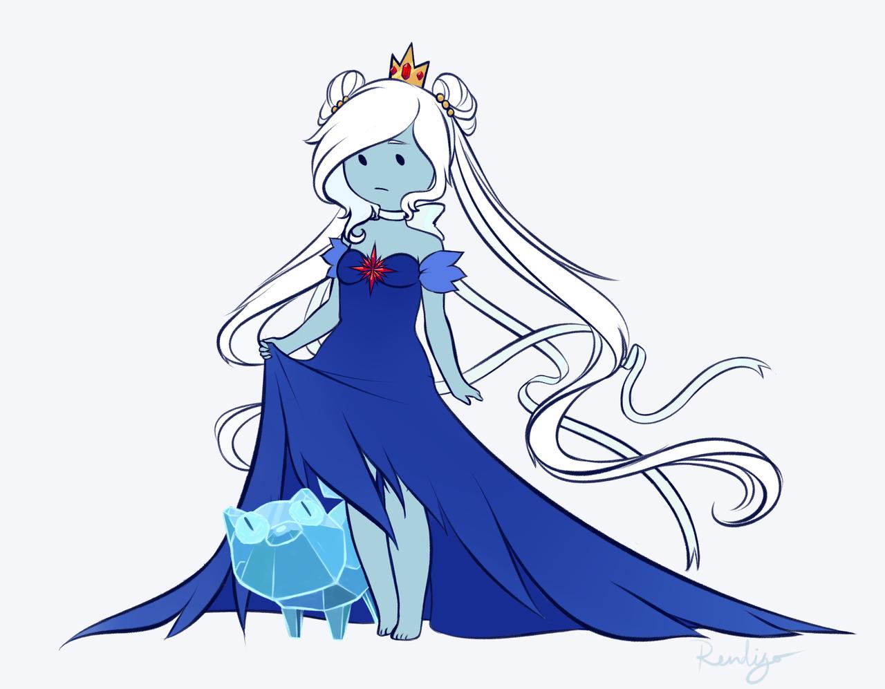 Drawn princess ice princess Multiple Kitten requests I've Kitten