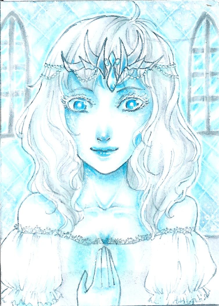 Drawn princess ice princess / 10 Eisprinzessin Ice 10