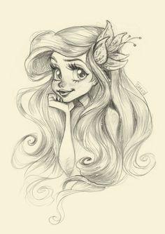 Drawn princess instagram Com Pinteres… Ariel facebook My
