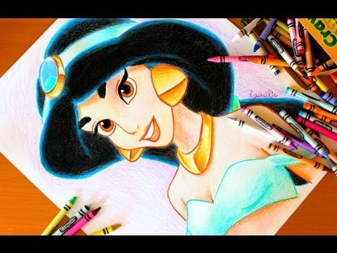 Drawn princess jasmine ART JASMINE BUDGET Aladdin Drawing: