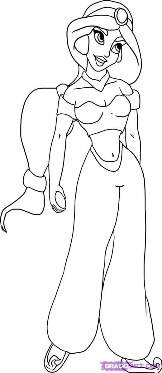 Drawn princess jasmine Play jasmine the 5 Web