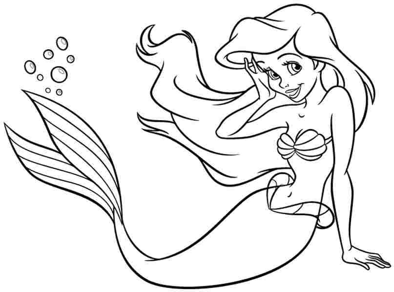 Drawn princess kid coloring page Free Princess Pages For Princess