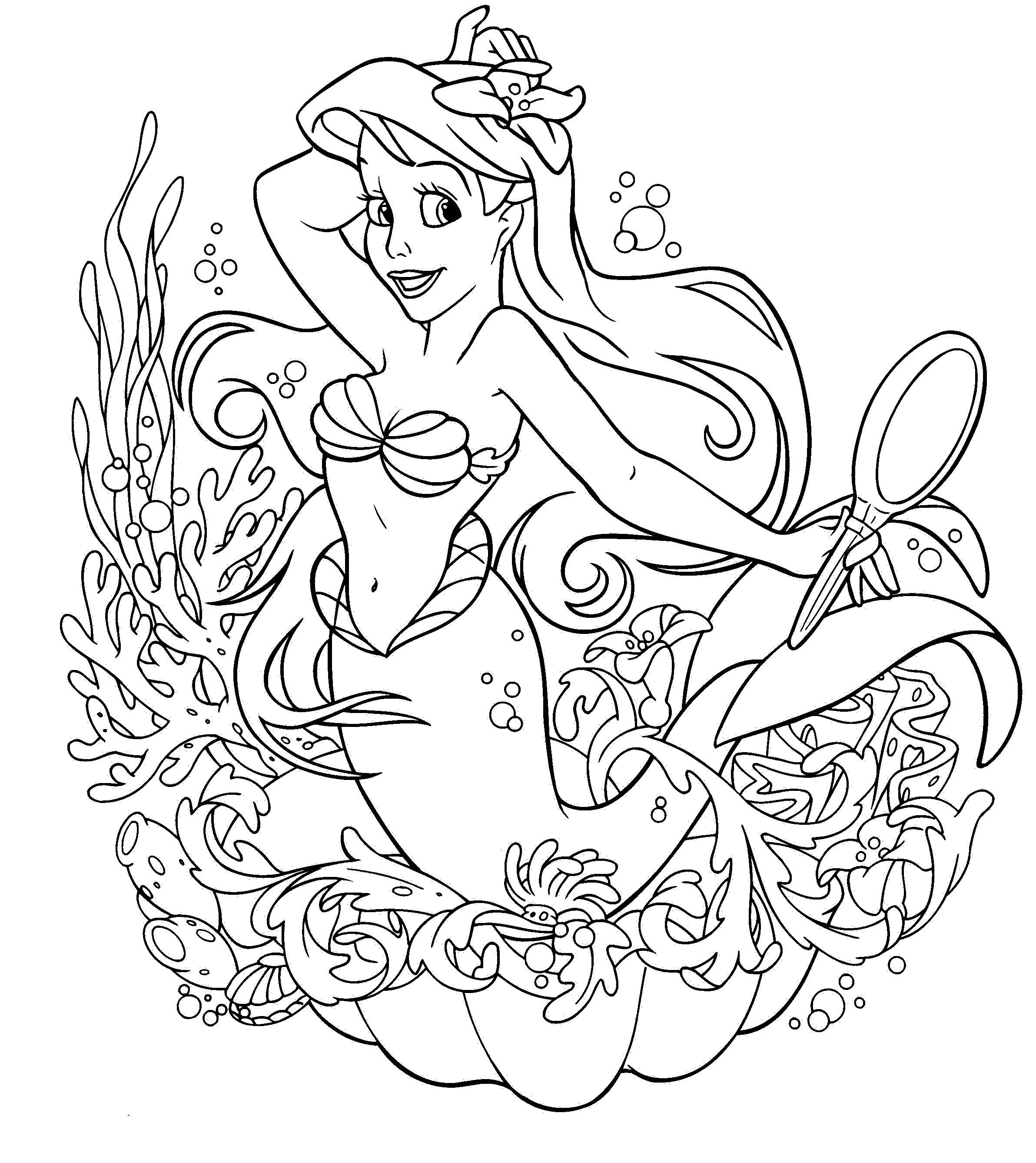 Drawn princess kid coloring page Princess Hello Pages Coloring Coloring