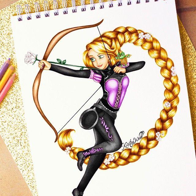 Drawn princess kristina webb Think Pinterest to about call