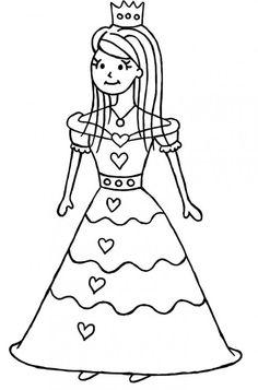 Drawn princess line drawing Step Draw Step to Step