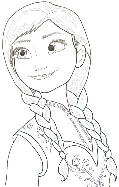 Drawn princess line drawing By Draw from to Step