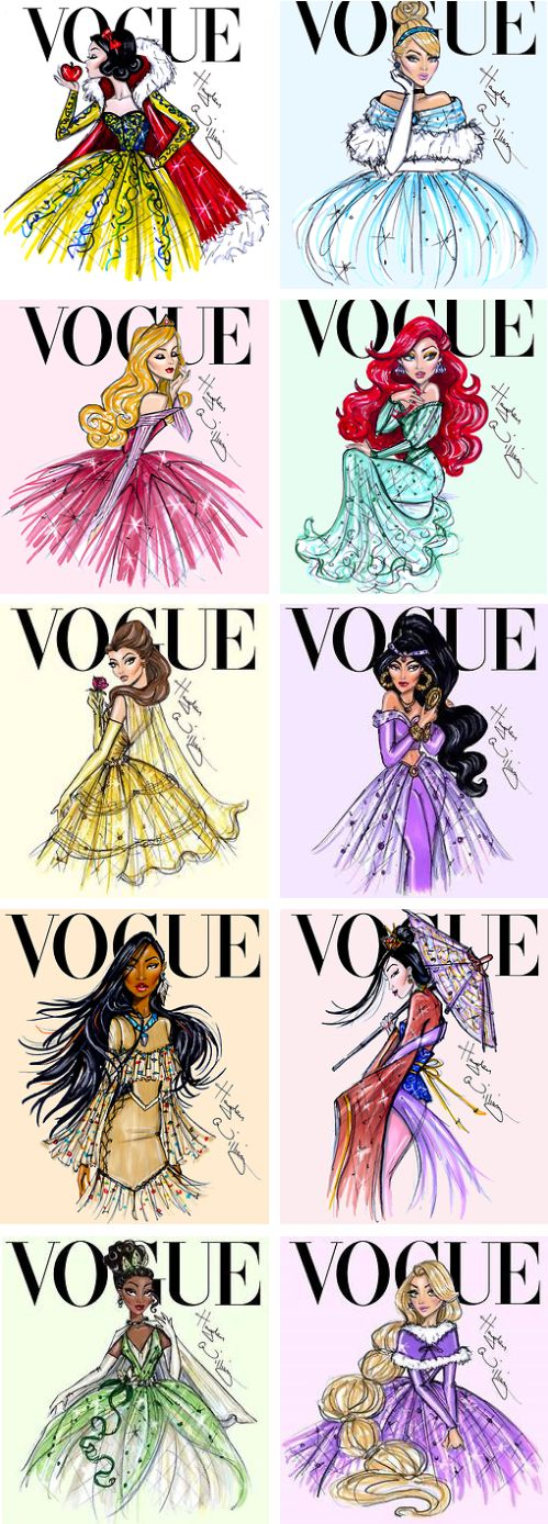 Drawn princess magazine Covers by Vogue 25+ Best