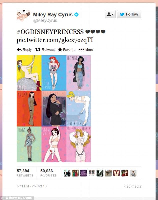Drawn princess miley cyrus Artworks Disney her in honour