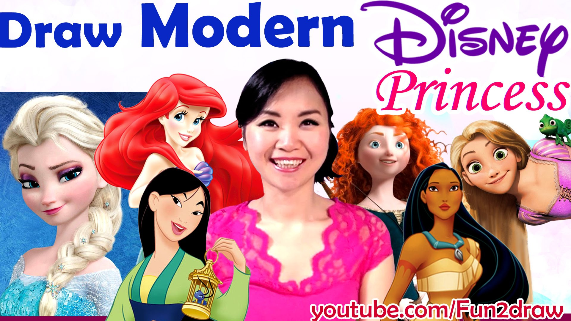Drawn princess modern As Video Fun  GIRLS!