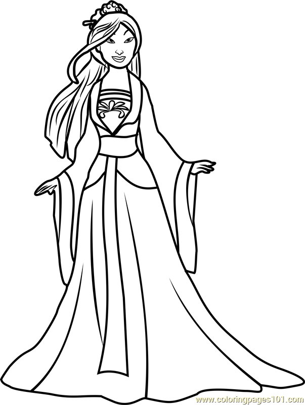 Drawn princess mulan Disney Princesses Princess Mulan Free