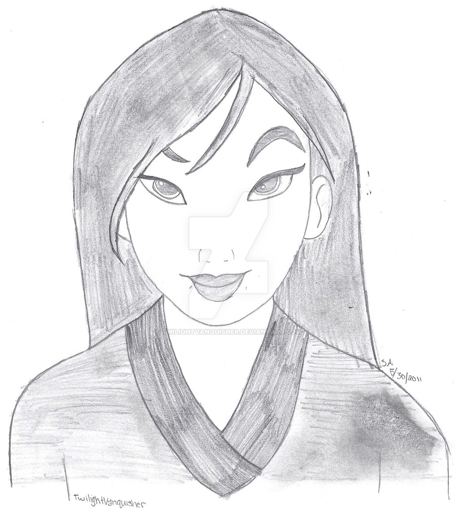 Drawn princess mulan TwilightVanquisher Mulan Mulan Mulan by