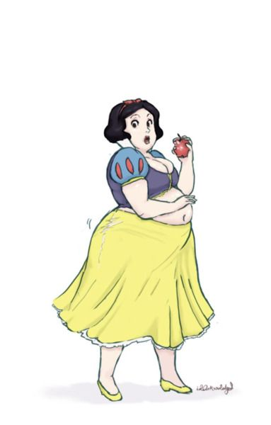 Drawn princess overweight To 9 best princesses on