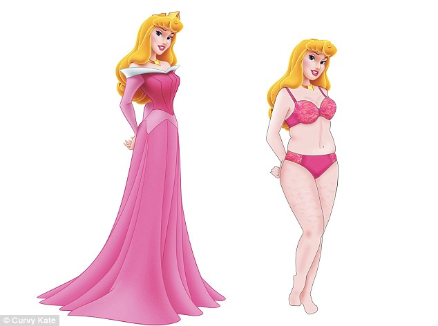 Drawn princess overweight Up a few pink: Disney
