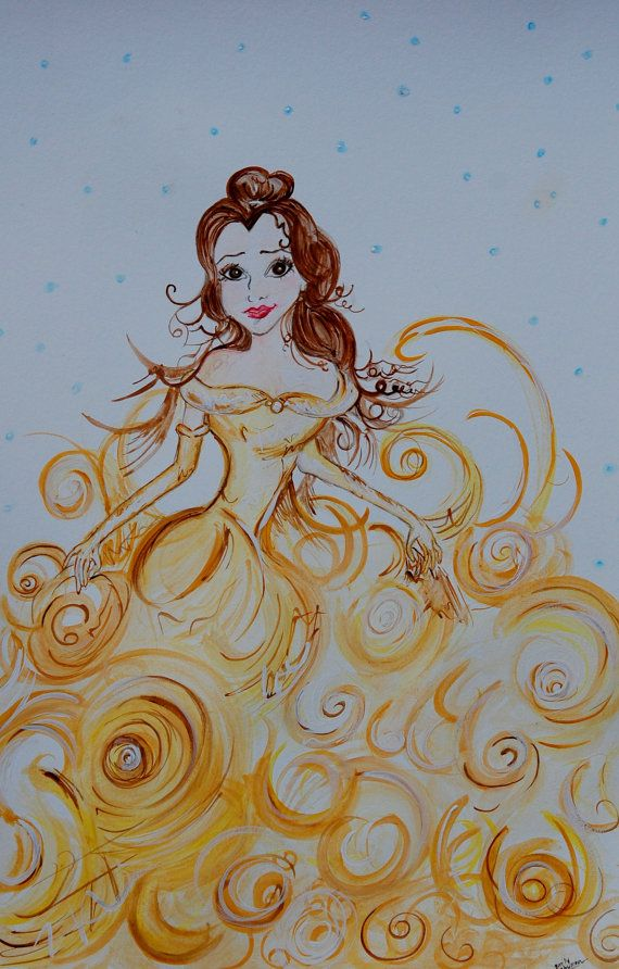 Drawn princess paint On 354 images  and