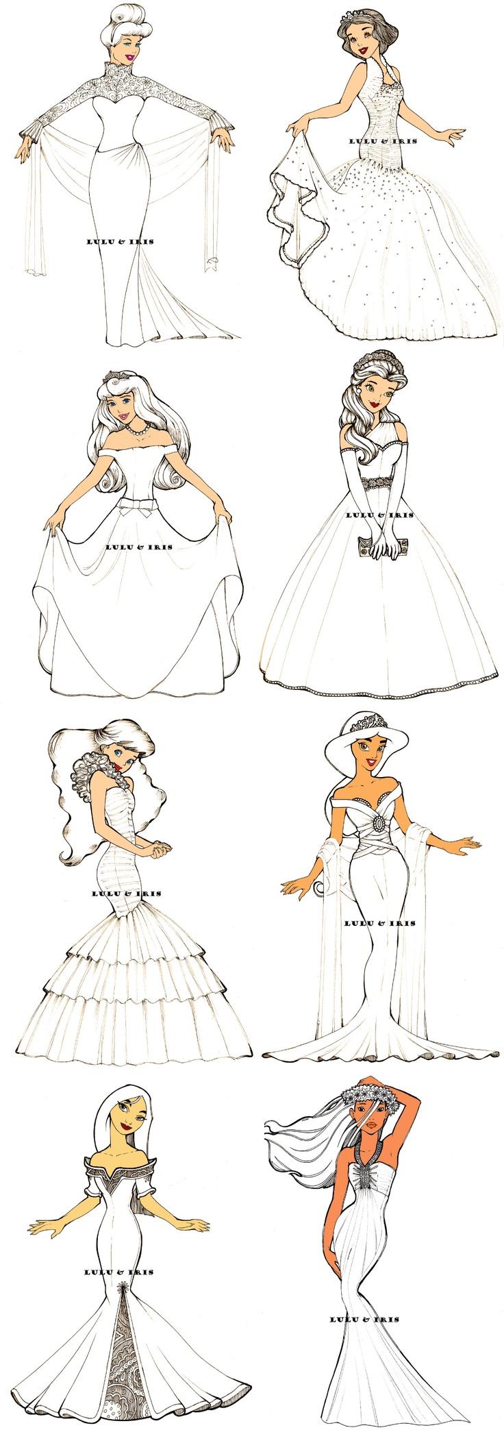 Drawn princess pretty princess Coloring best Pretty 354 women