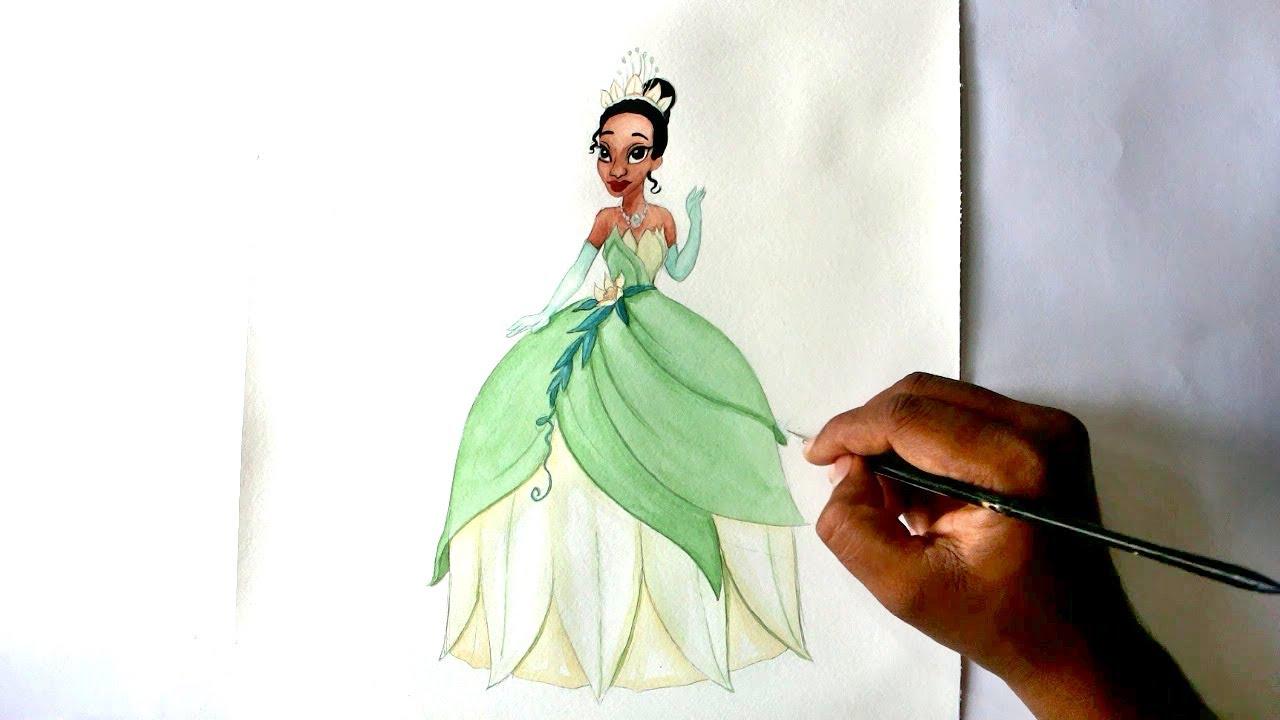 Drawn princess princess and the frog Princess frog princess movie How