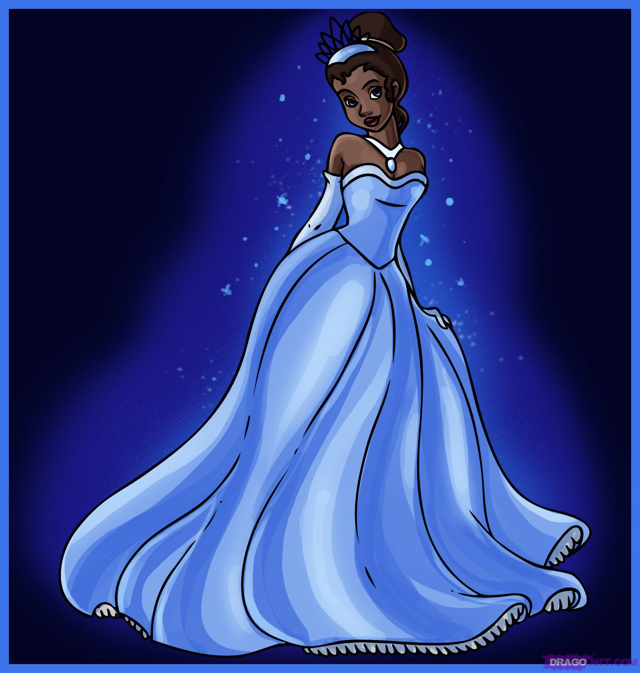 Drawn princess princess and the frog From Princess How and to